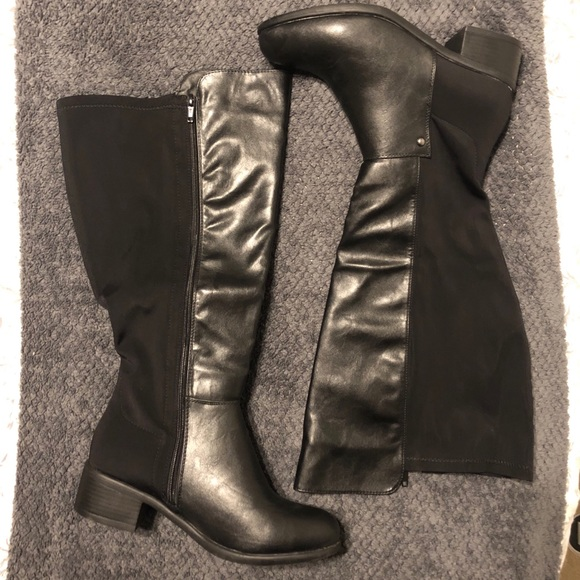 326829f5ded Avenue Reece Wide Calf Boots - New! Stretchy!